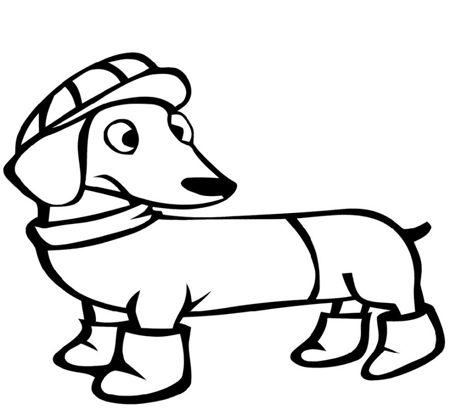 weiner dog coloring pages dachshund coloring pages best coloring pages for kids weiner coloring dog pages