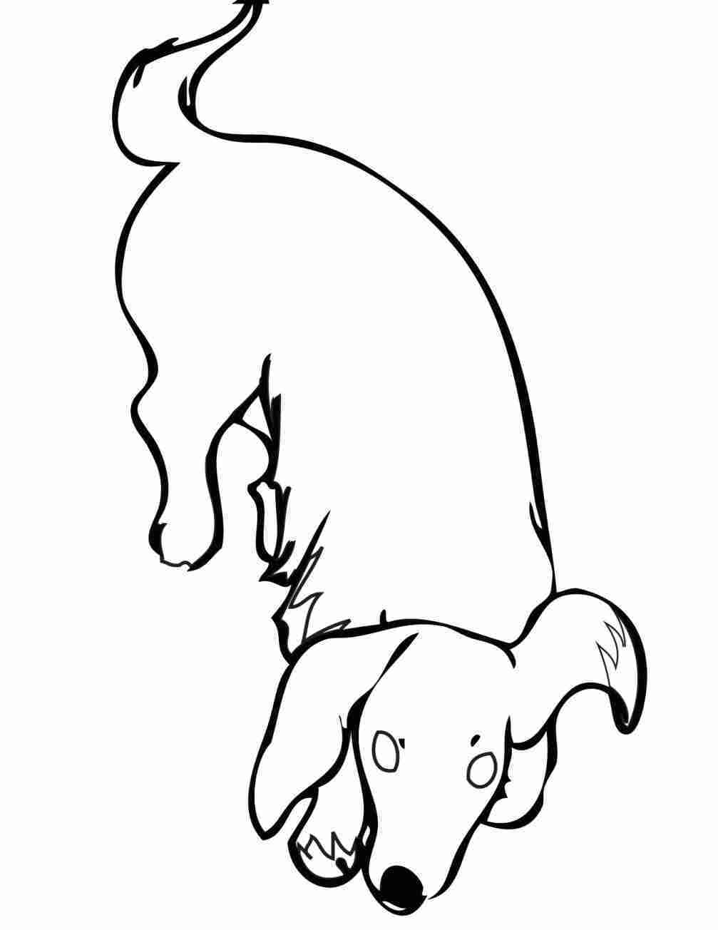 weiner dog coloring pages racing dachshund line art puppy coloring pages dog coloring weiner pages dog