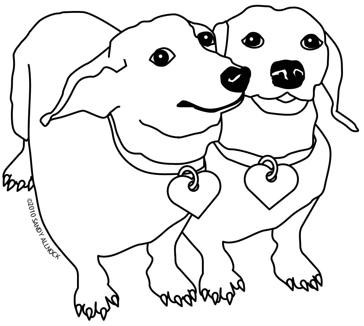 weiner dog coloring pages weiner dog drawing free download on clipartmag weiner dog coloring pages