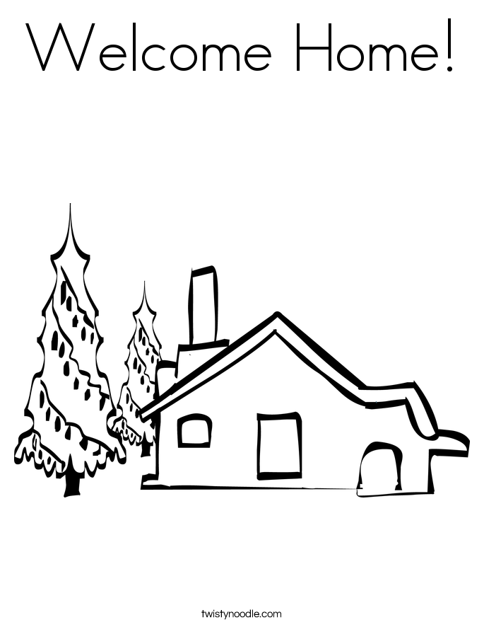 welcome home coloring pages welcome home coloring pages coloring home welcome pages home coloring