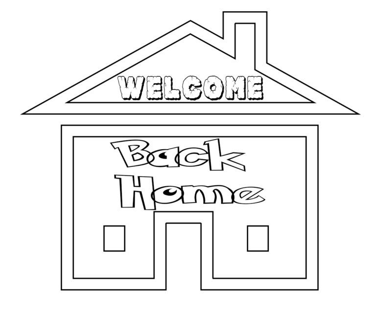 welcome home coloring pages welcome home mom coloring coloring pages pages welcome coloring home