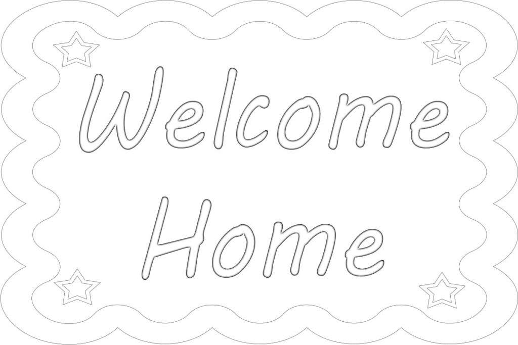 welcome home coloring pages wonderful welcome home coloring pages welcome home coloring pages