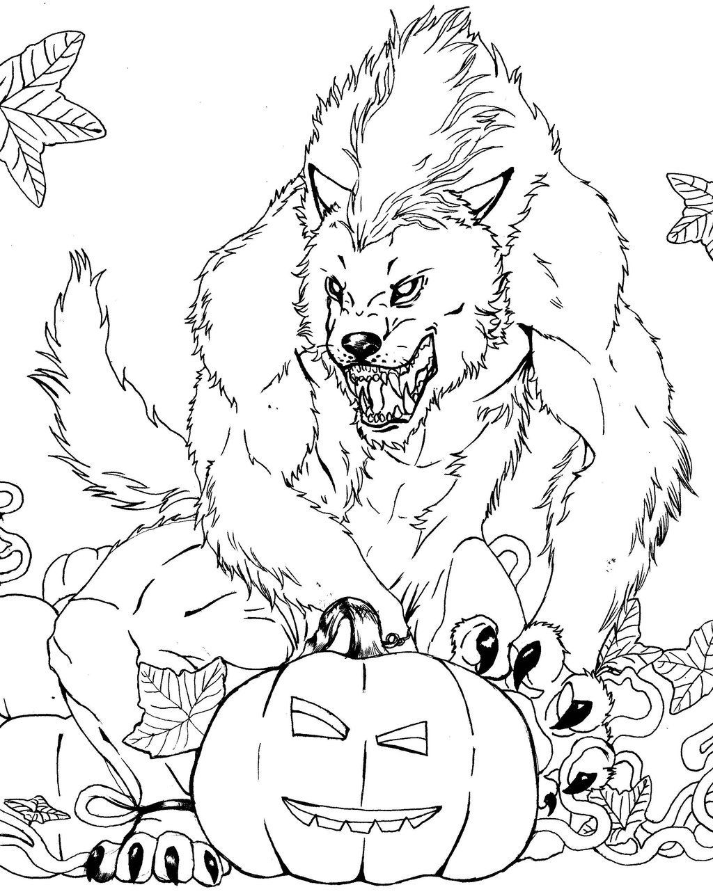 werewolf coloring page free werewolf coloring page lineart classic movie page werewolf coloring