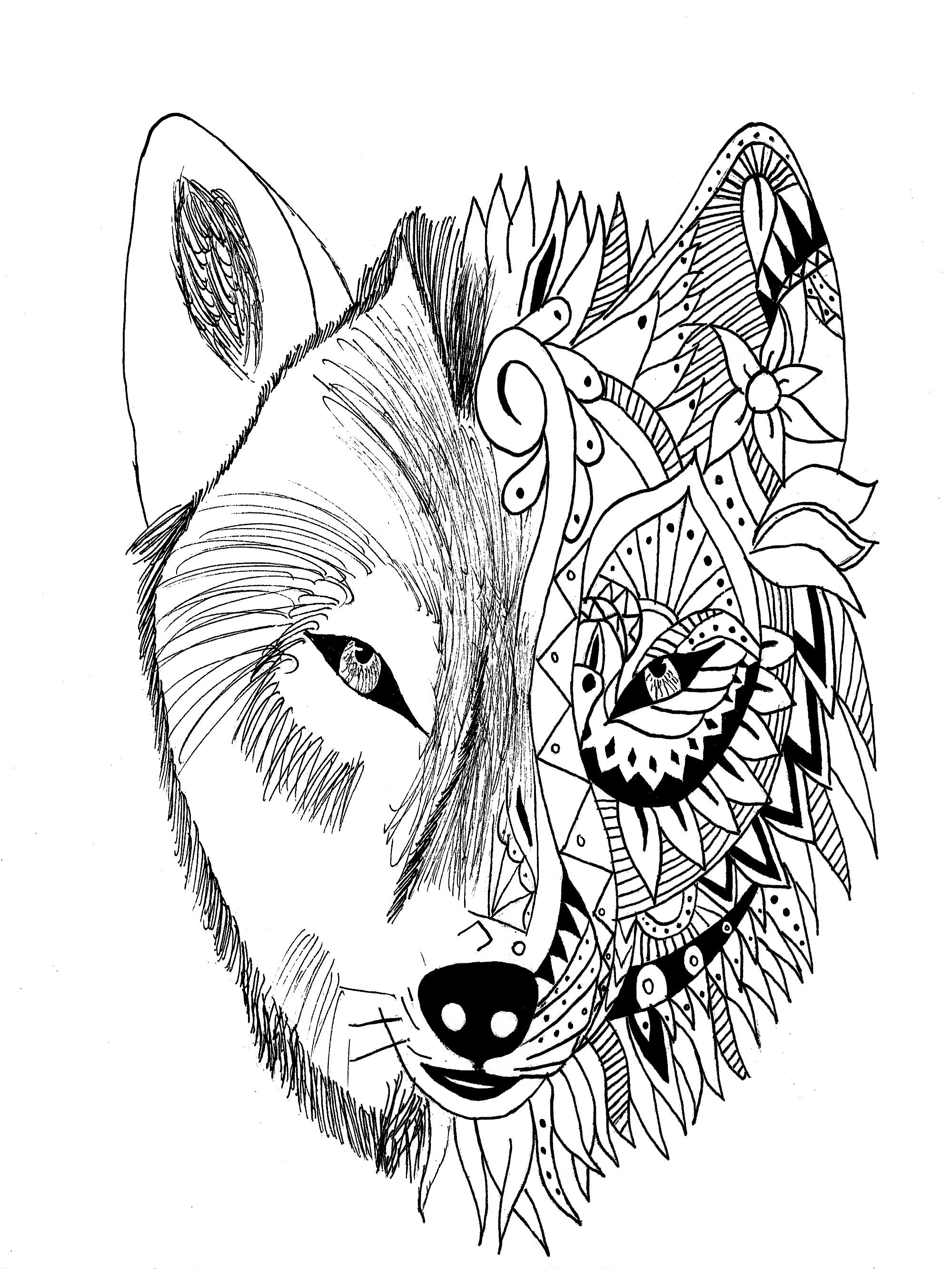 werewolf coloring page werewolf face drawing at getdrawings free download werewolf coloring page