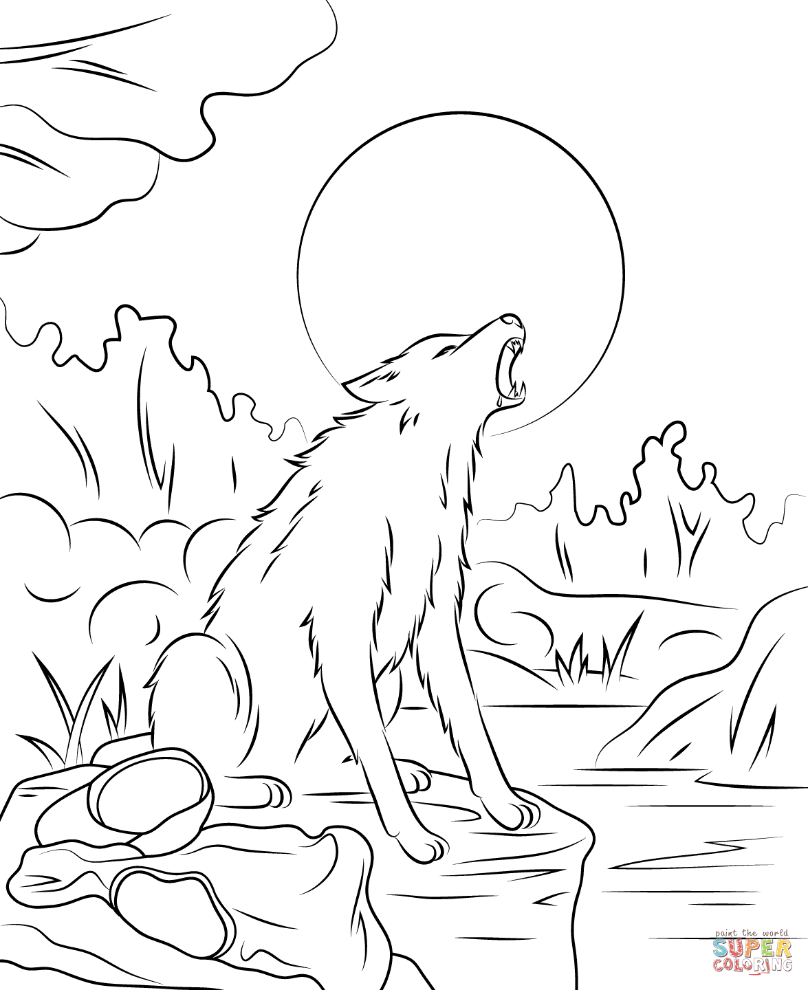 werewolf coloring pages printable werewolf coloring download werewolf coloring for free 2019 werewolf printable pages coloring