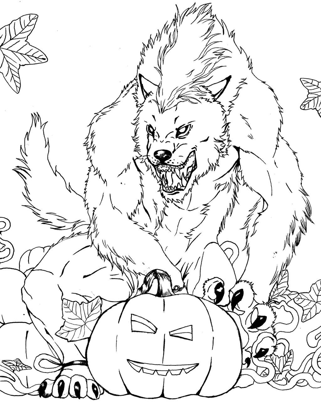 werewolf coloring pages printable werewolf coloring pages printable at getdrawings free werewolf pages coloring printable