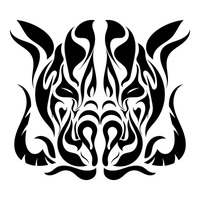 wild boar outline vector set of black wild boars and boar logo isolated on wild boar outline