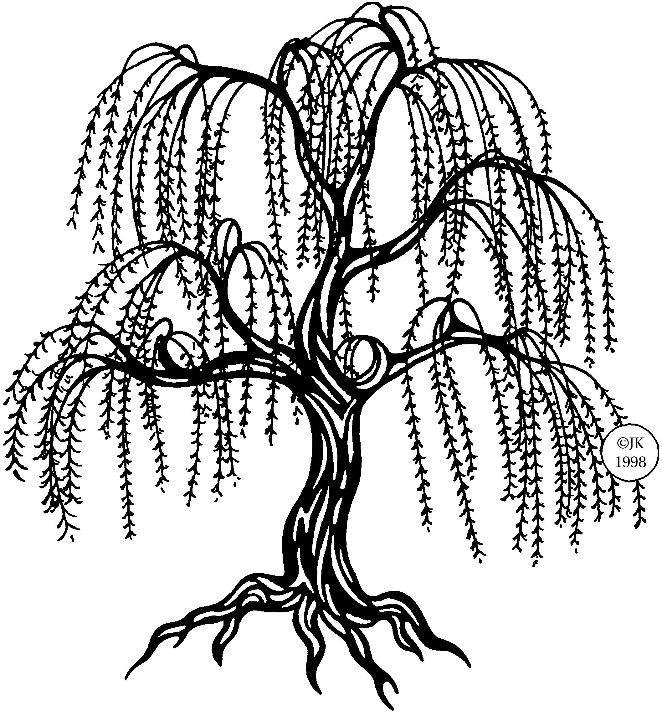 willow tree coloring page willow tree coloring pages for kids free printable willow page willow tree coloring 1 1