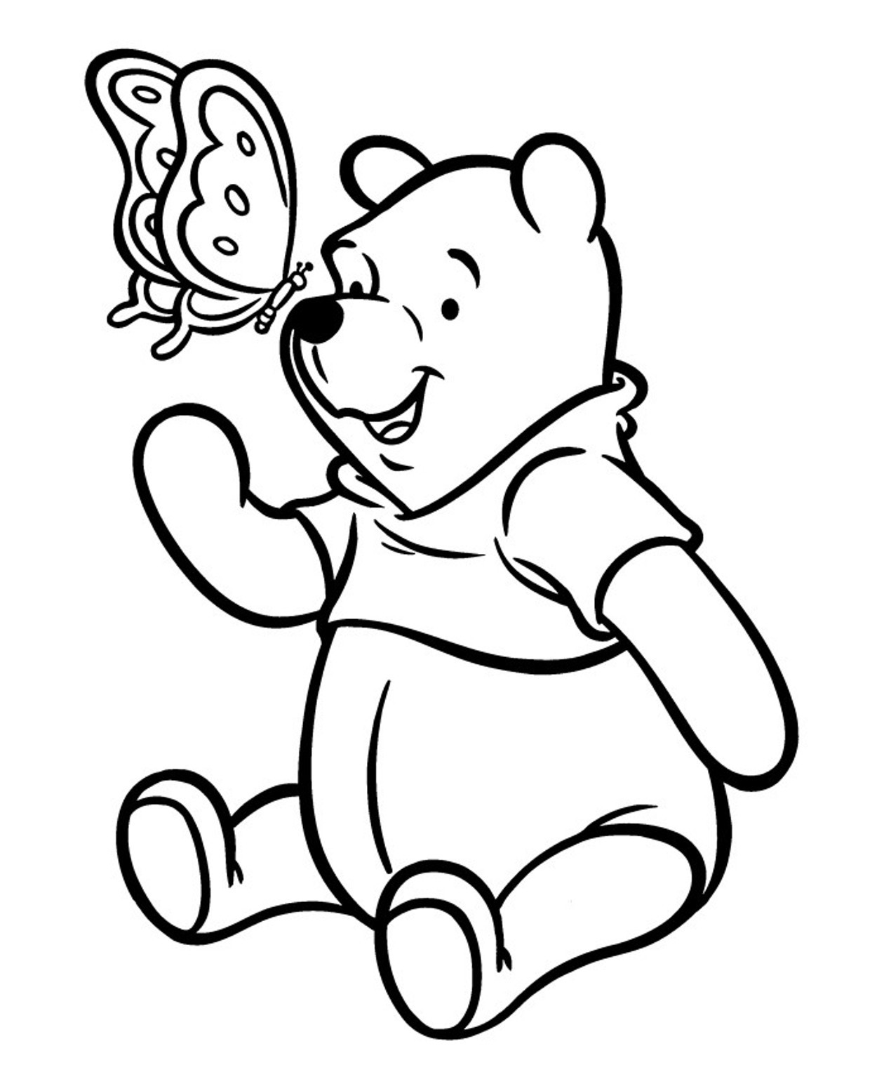 winnie the pooh drawing classic winnie the pooh drawing at getdrawings free download drawing the winnie pooh
