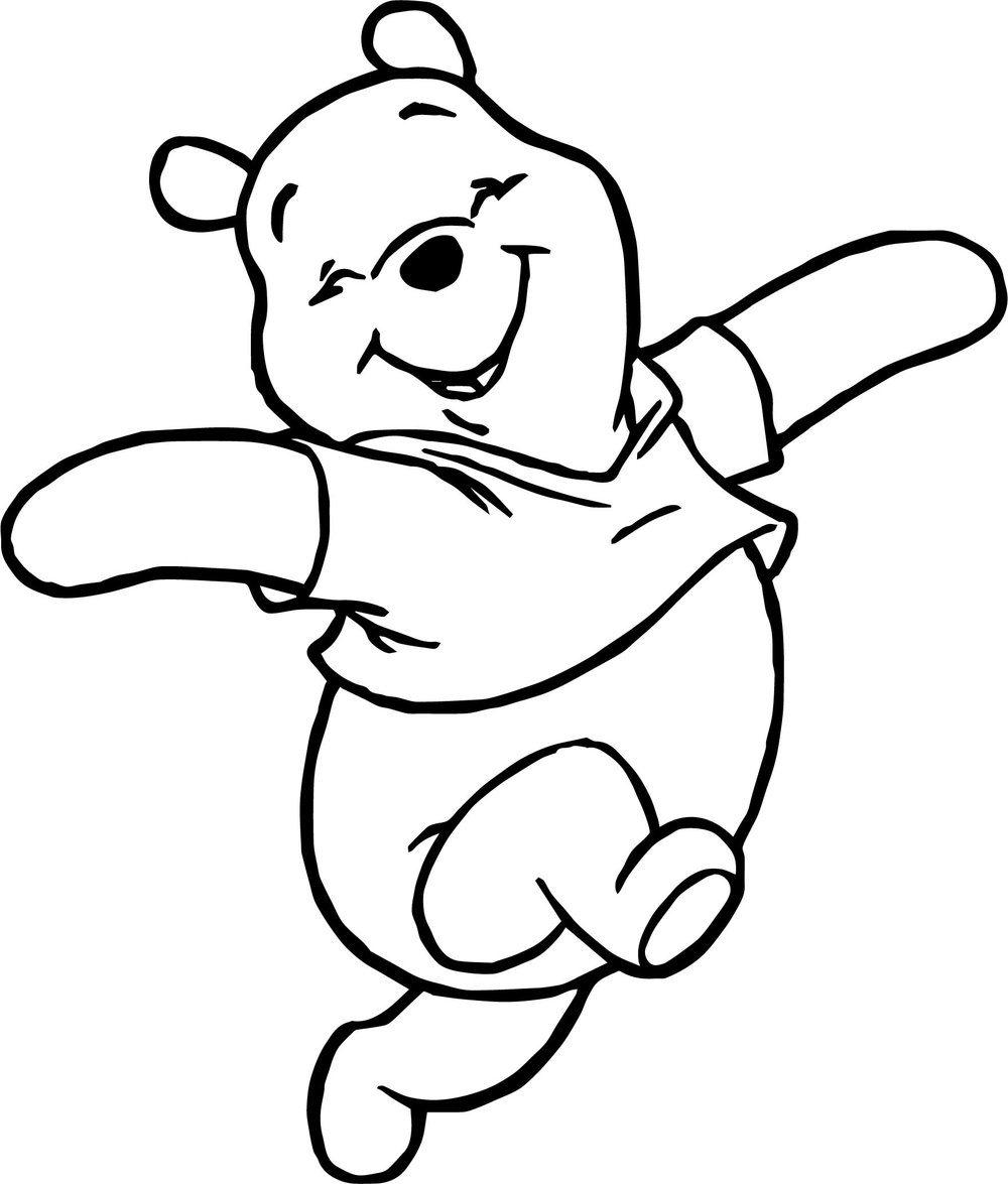 winnie the pooh drawing winnie the pooh line drawing free download on clipartmag drawing winnie pooh the