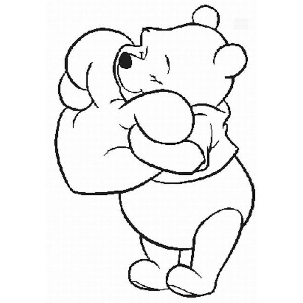 winnie the pooh outline how to draw roo from winnie the pooh with easy step by the winnie outline pooh