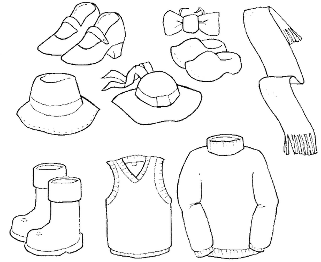 winter clothes colouring pages winter clothes coloring pages coloring home clothes colouring winter pages