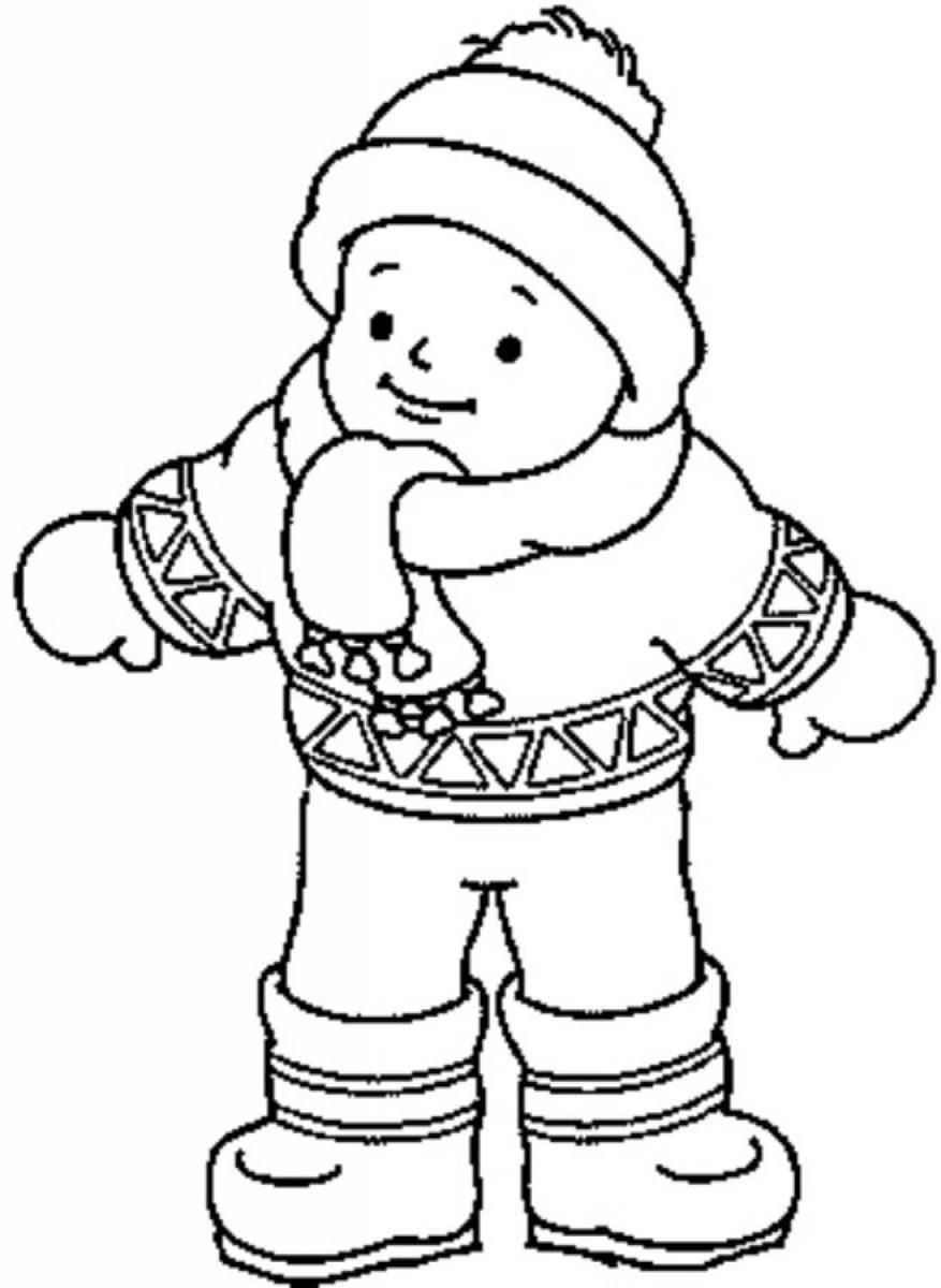 winter clothes colouring pages winter clothes coloring pages coloring pages to download winter colouring pages clothes