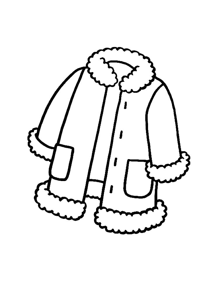 winter clothes colouring pages winter clothes coloring pages to download and print for free pages winter clothes colouring