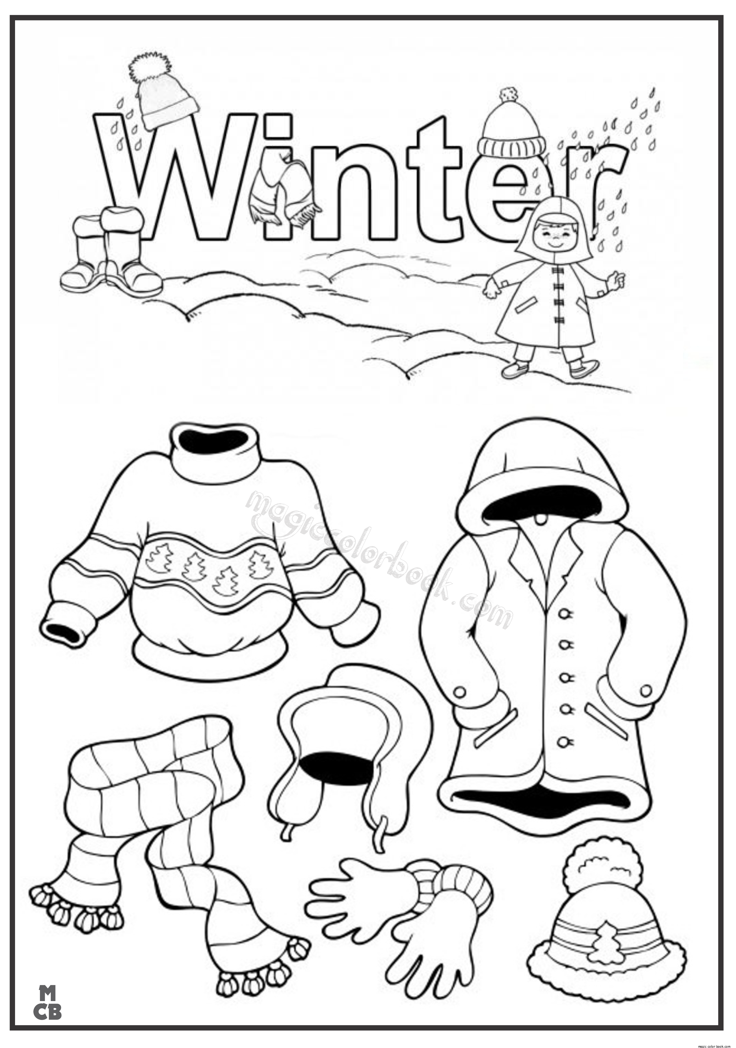 winter clothes colouring pages winter clothes for girl coloring page atividades de inverno winter colouring pages clothes