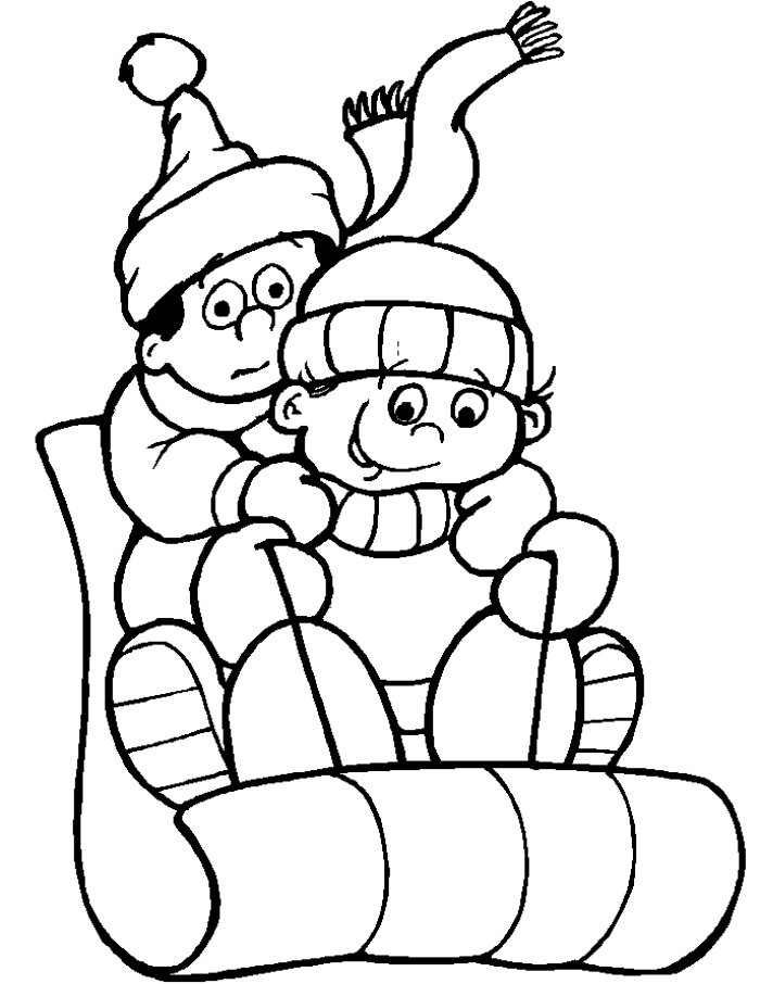 winter coloring coloring pages winter coloring pages and clip art free coloring winter