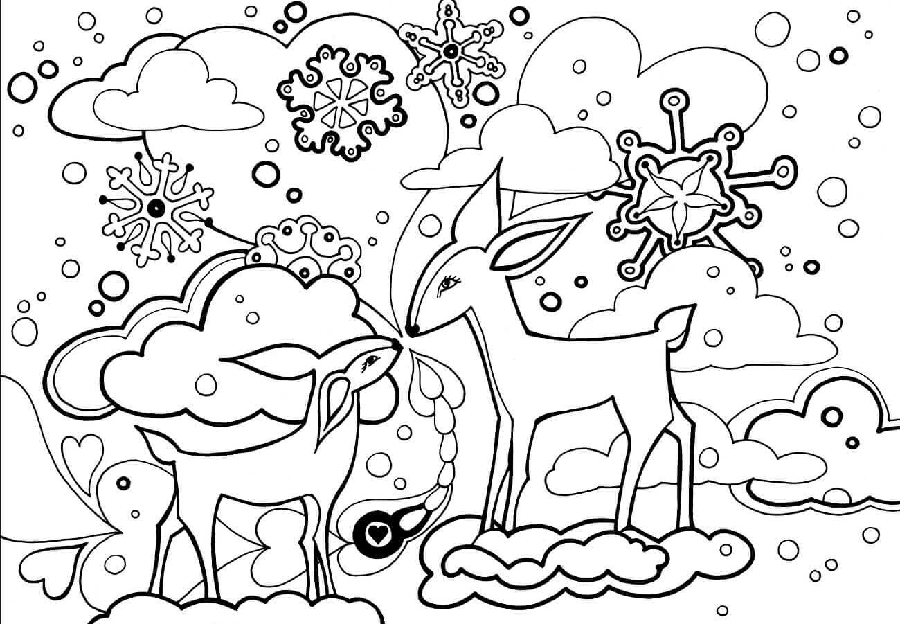 winter coloring free printable winter coloring pages winter coloring