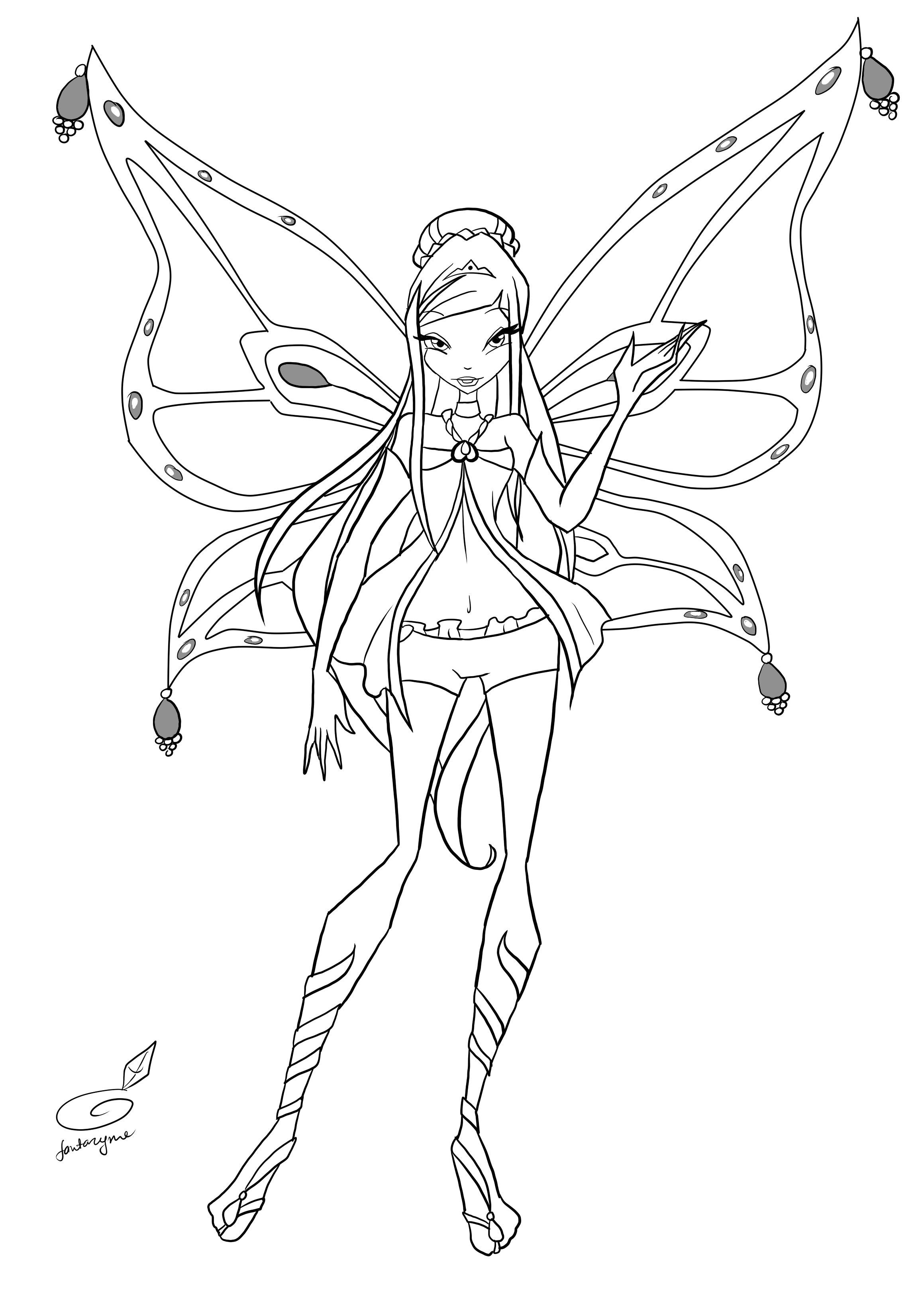 winx club colouring pages believix get this kids39 printable winx club coloring pages x4lk2 club pages winx colouring believix