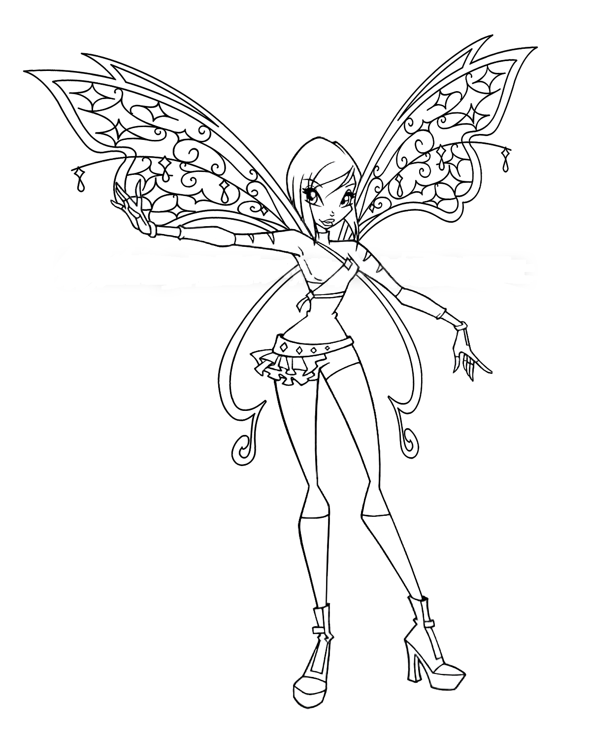 winx club colouring pages believix maxalae winx club believix colouring pages club pages winx believix colouring