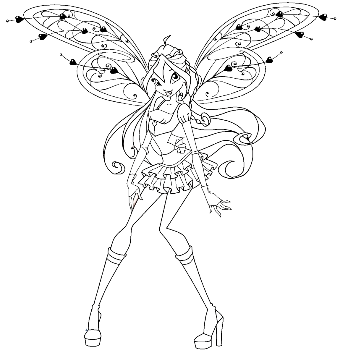winx club colouring pages believix stella believix by elfkena on deviantart colouring club winx believix pages