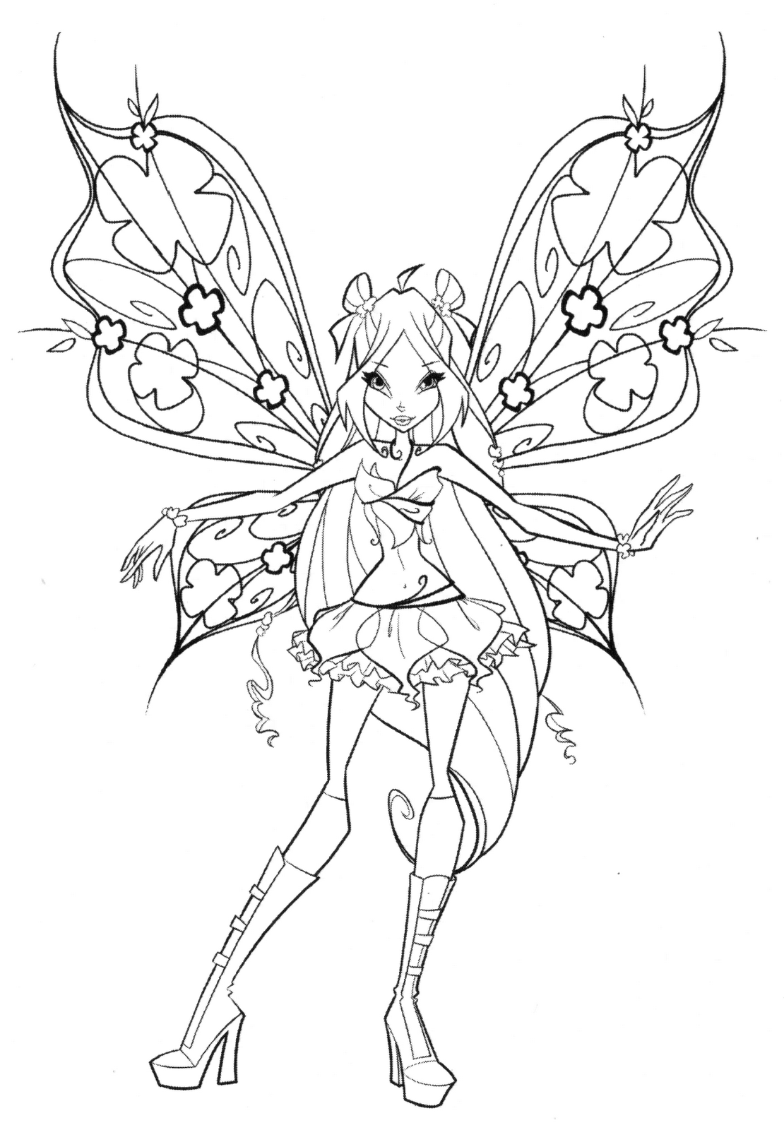 winx club colouring pages believix winx believix coloring pages to download and print for free club believix pages colouring winx