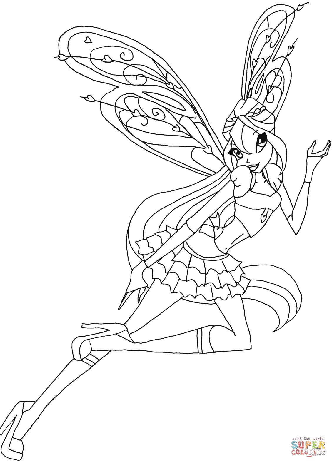 winx club colouring pages believix winx club all colorear winx club believix club colouring winx pages believix