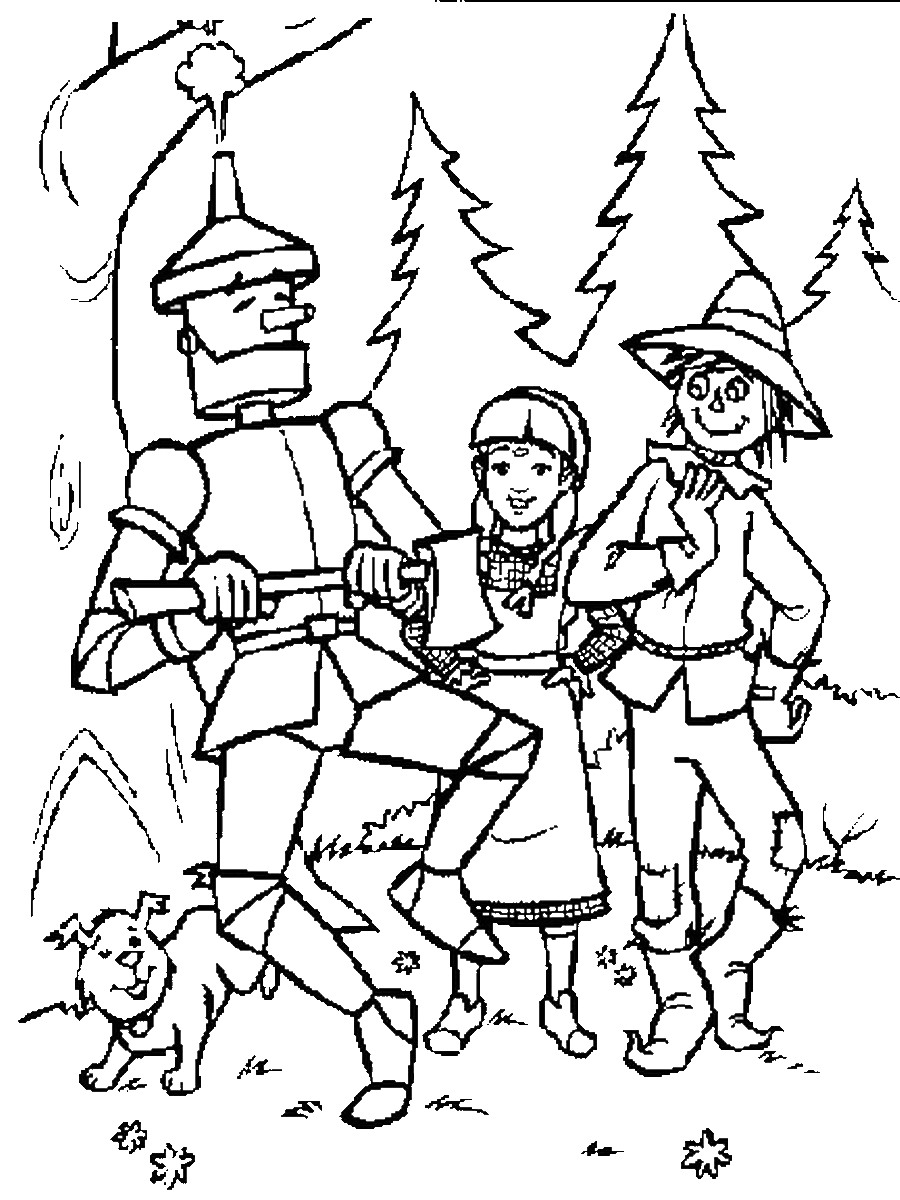 wizard of oz coloring the wizard of oz coloring book kayliebooks oz wizard of coloring