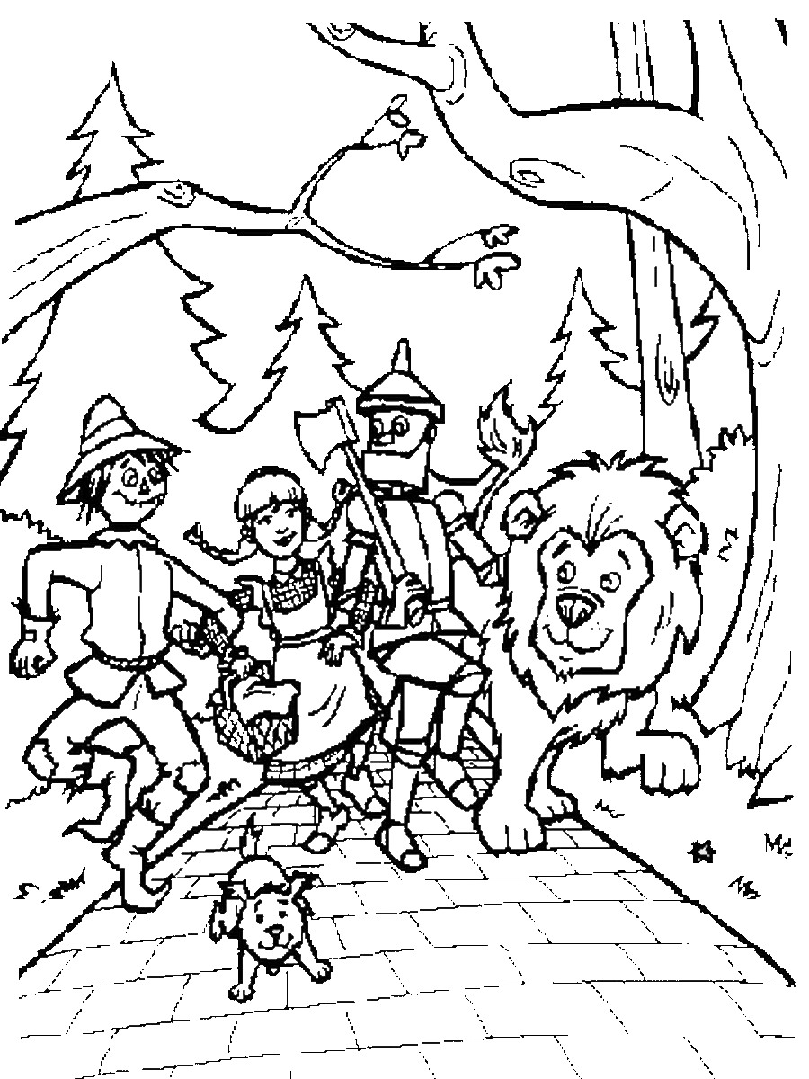 wizard of oz pictures to print wizard of oz coloring pages pictures oz print of wizard to