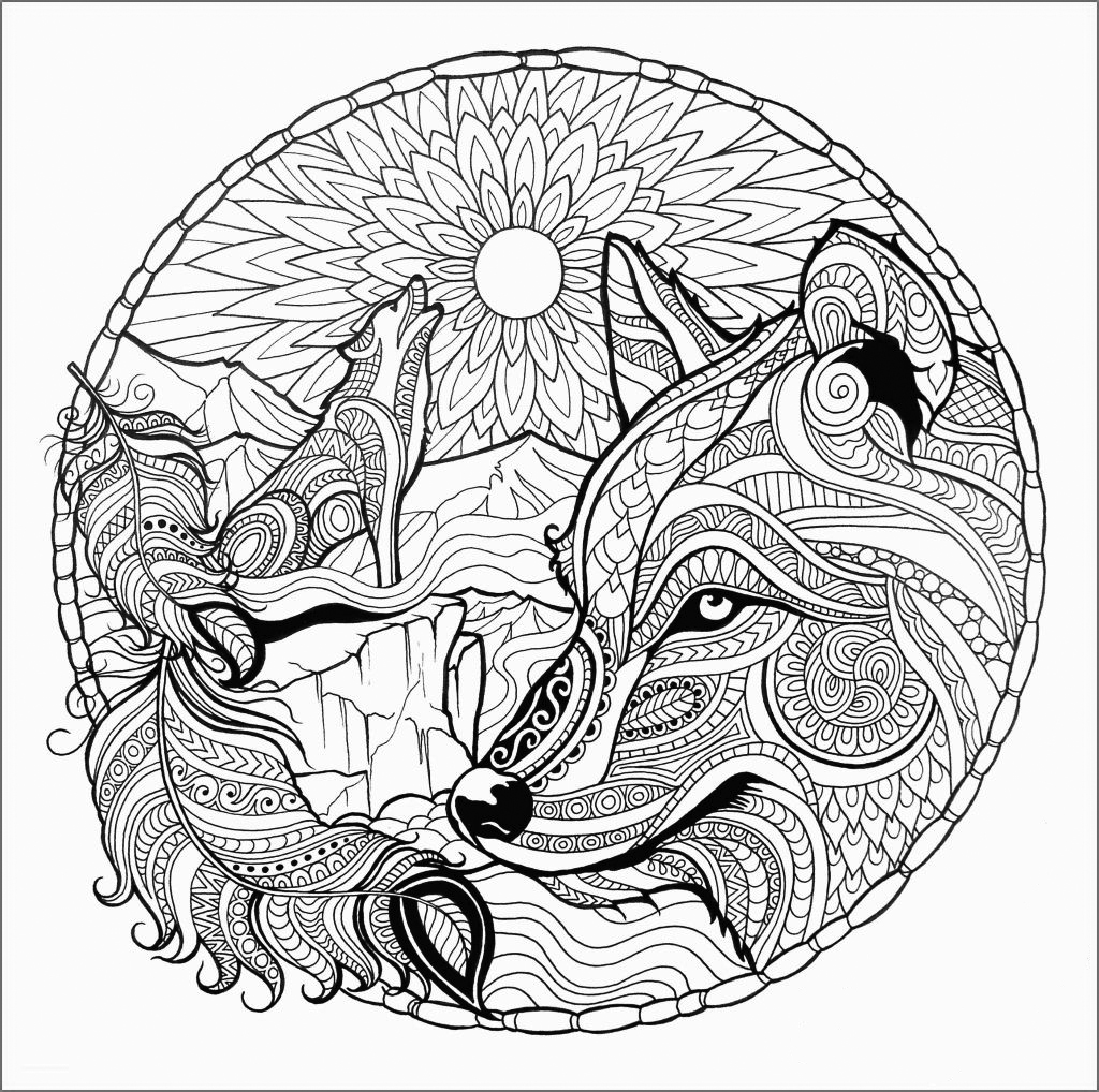 wolf coloring pages for adults fantasy wolf printable adult coloring page from favoreads adults wolf pages for coloring