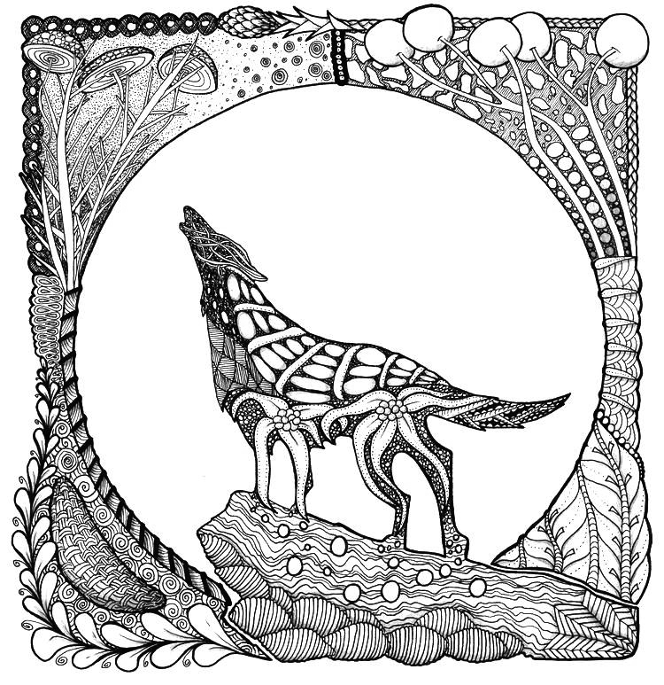 wolf coloring pages for adults free wolf coloring pages for adults printable to download adults wolf pages for coloring