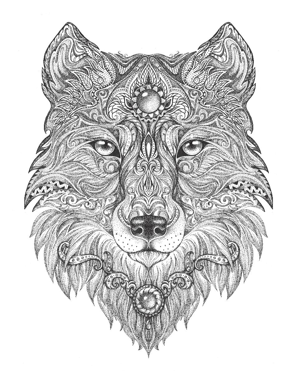 wolf coloring pages for adults wolf coloring pages for adults best coloring pages for kids coloring wolf pages for adults