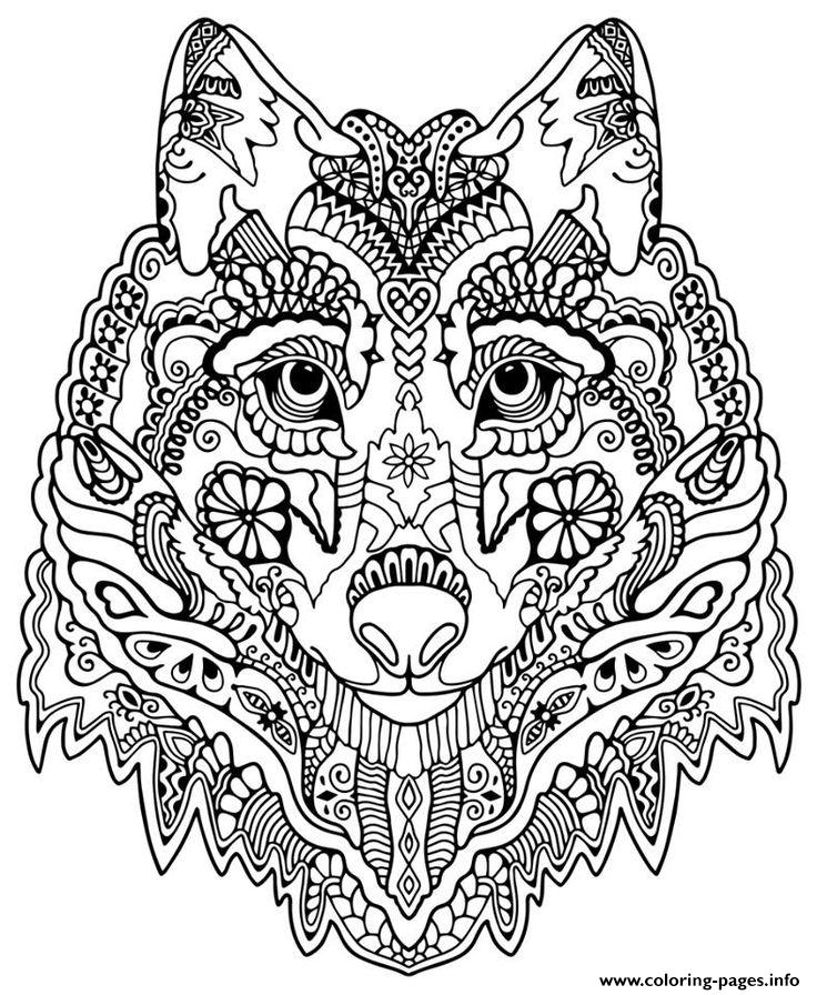 wolf face coloring pages wolf face coloring pages at getdrawings free download face coloring pages wolf