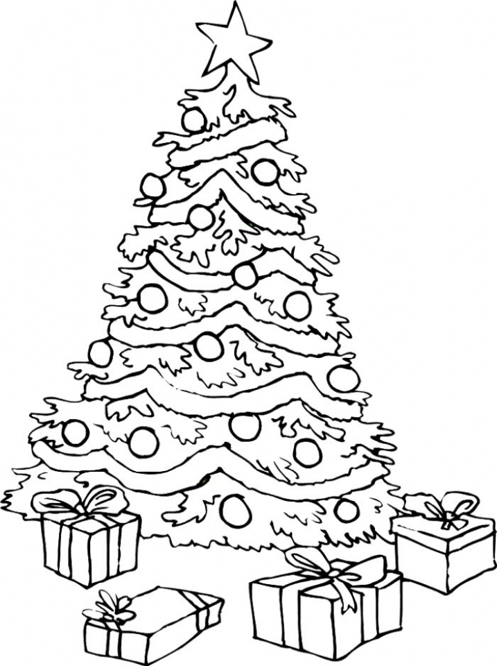 xmas tree colouring pages decorate your christmas trees coloring pages color luna xmas pages colouring tree
