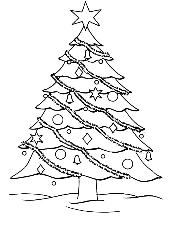 xmas tree colouring pages get this christmas tree coloring pages for kids 590187 colouring pages tree xmas