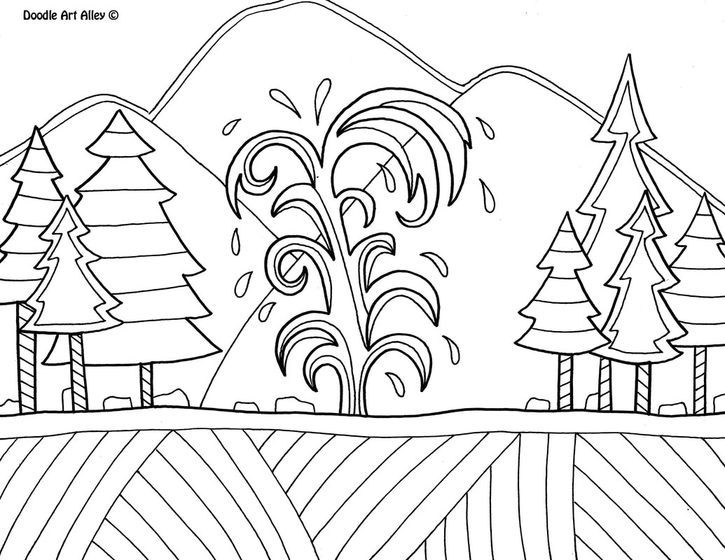 yellowstone national park coloring pages free coloring pages printable pictures to color kids coloring park pages national yellowstone