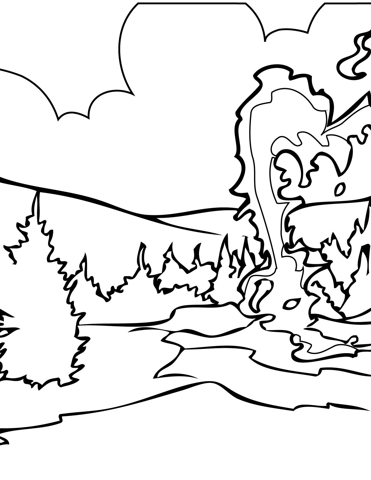 yellowstone national park coloring pages printable yellowstone park coloring american wildlife kids yellowstone park coloring national pages