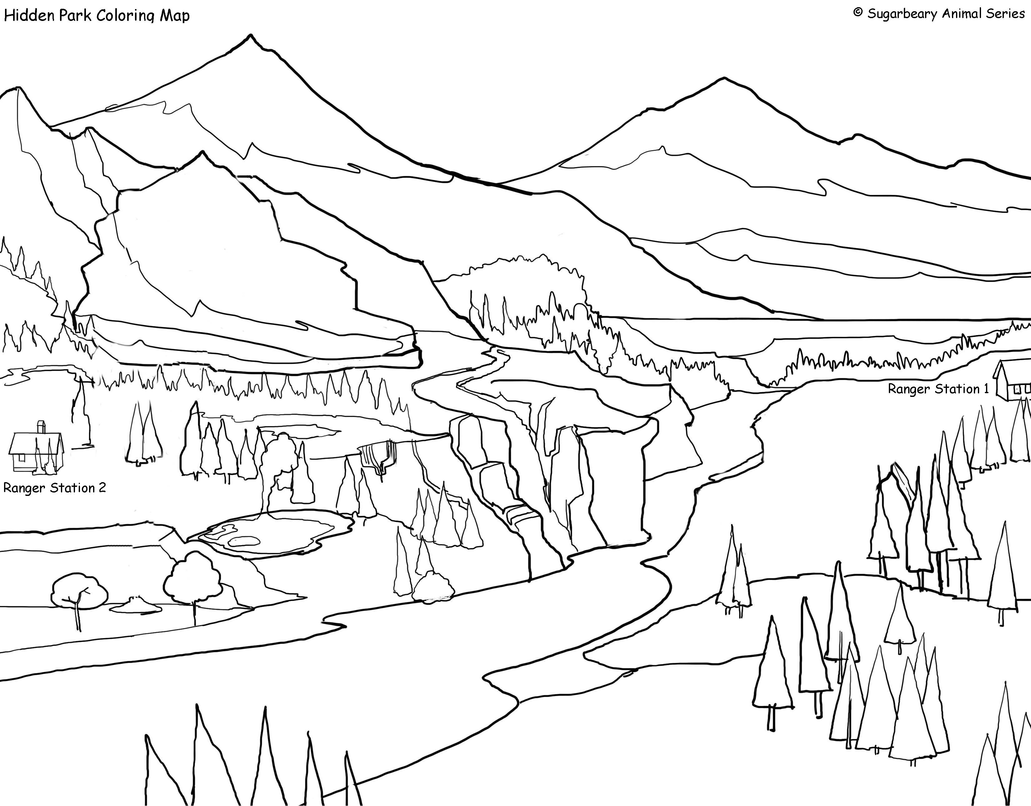 yellowstone national park coloring pages yellowstone coloring download yellowstone coloring for yellowstone park pages coloring national