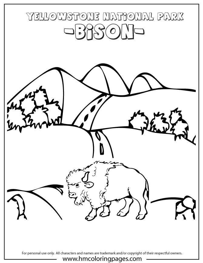 yellowstone national park coloring pages yellowstone national park coloring pages at getdrawings yellowstone coloring pages national park