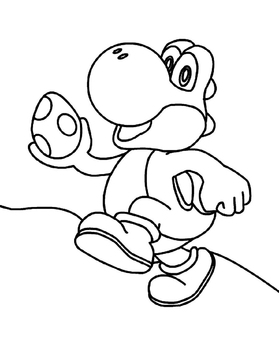 yoshi pictures to colour in free printable yoshi coloring pages for kids colour pictures to in yoshi