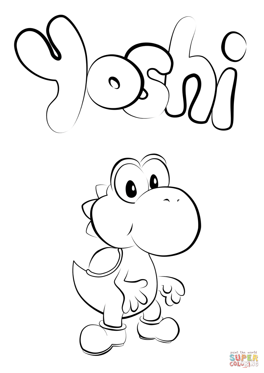 yoshi pictures to colour in free printable yoshi coloring pages for kids pictures in to colour yoshi