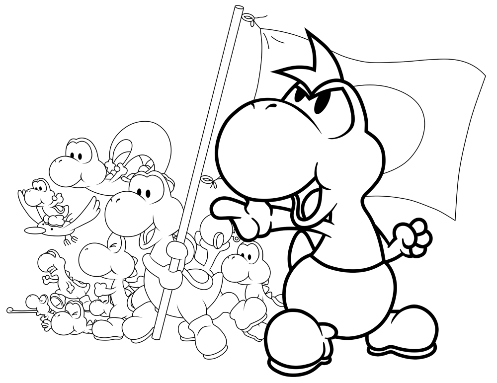 yoshi pictures to colour in yoshi mario kart coloring pages divyajananiorg pictures yoshi to colour in