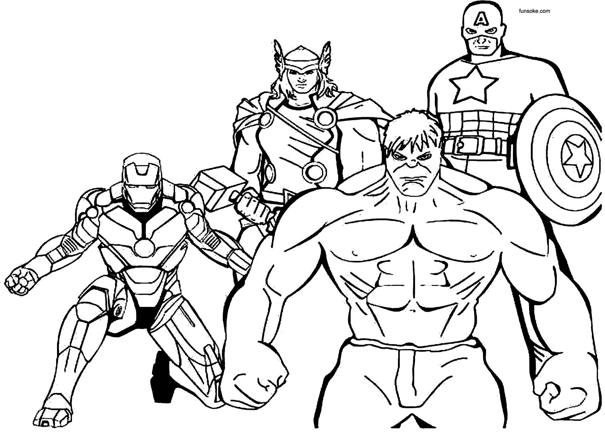 young marvel coloring book free printable coloring pages for kids avengers funsoke book young marvel coloring