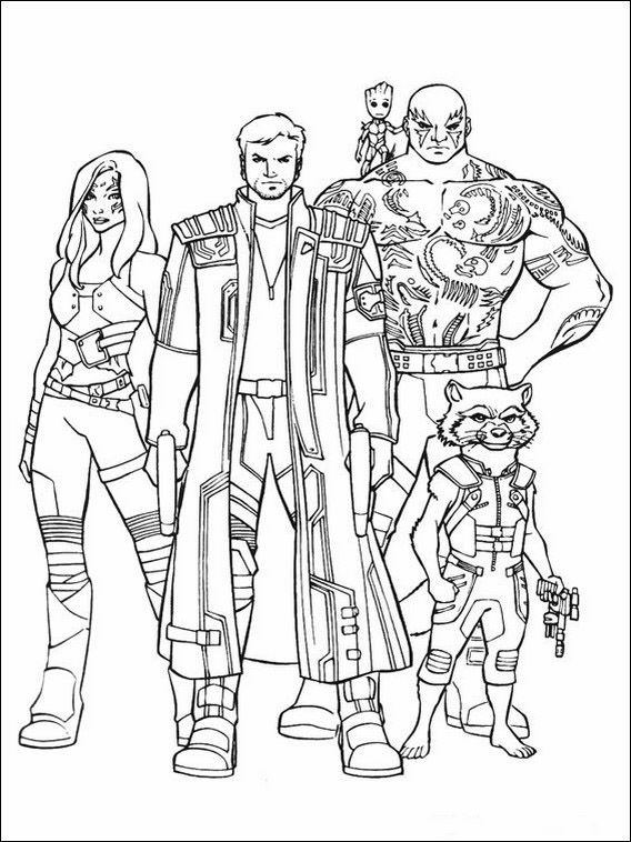young marvel coloring book guardians of the galaxy printable coloring pages 19 coloring book marvel young