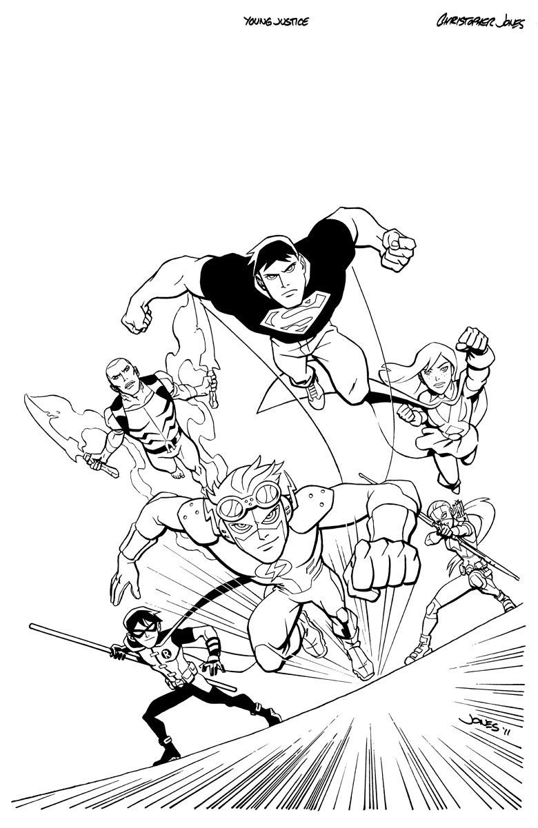 young marvel coloring book pin oleh illustration designer di young justice coloring pages marvel coloring book young