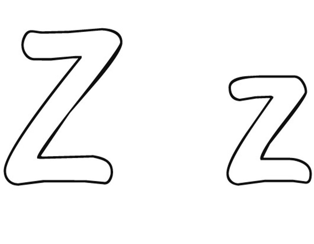 z coloring pages 40 zebra templates free psd vector eps png format z coloring pages