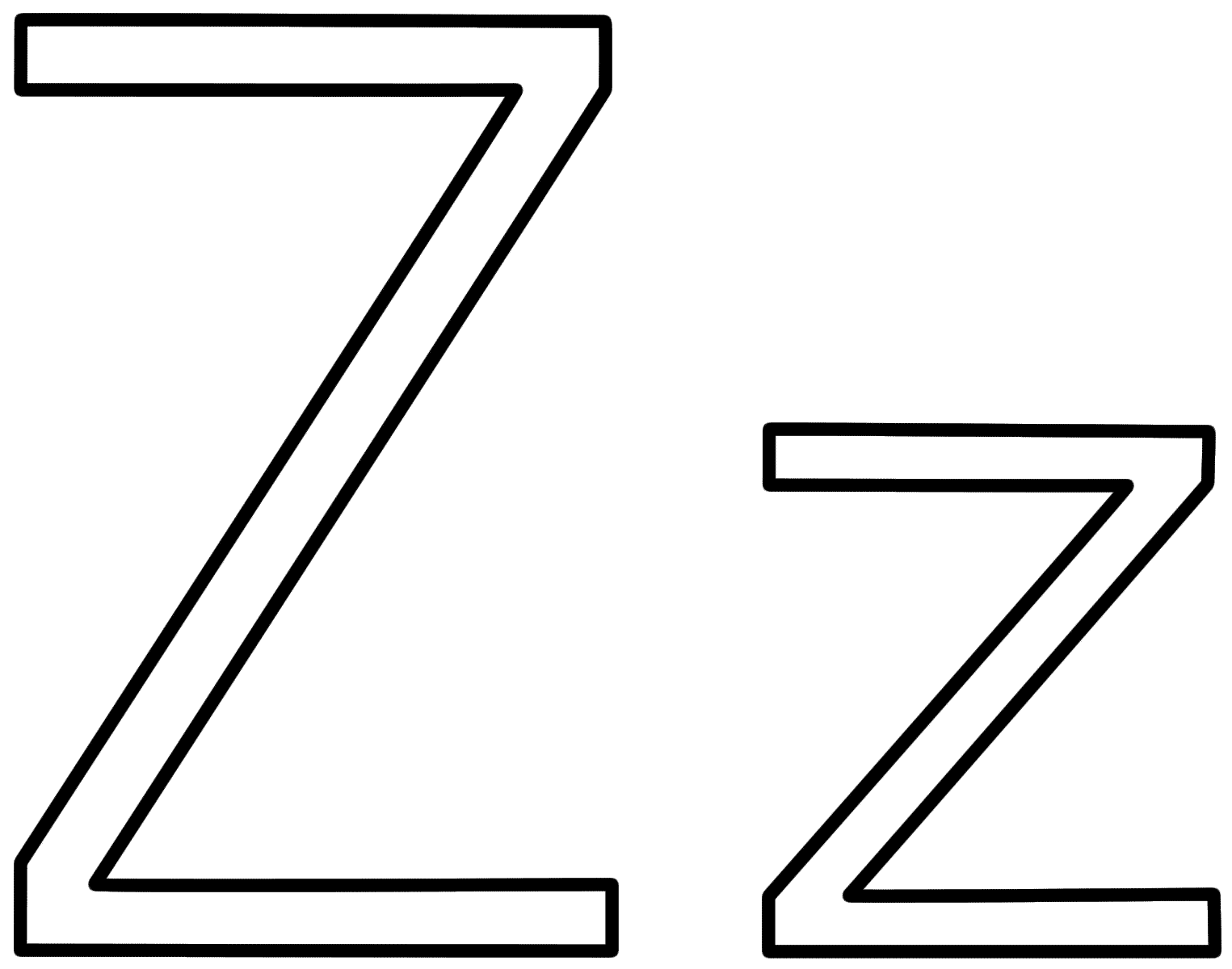 z coloring pages abc alphabet coloring sheets z is for zebra honkingdonkey coloring pages z