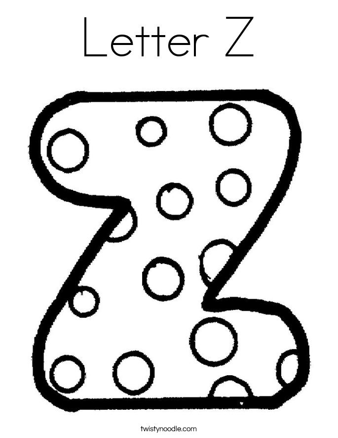 z coloring pages kids page alphabet letter z worksheet printable z pages coloring