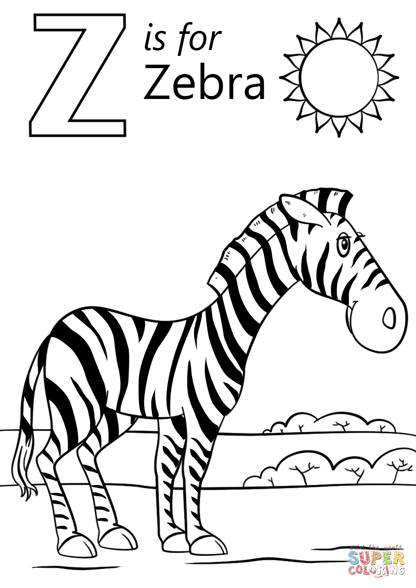z coloring pages letter z coloring page twisty noodle z pages coloring