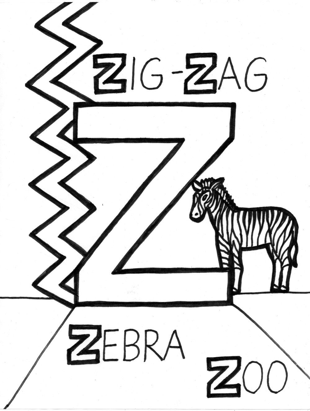 z coloring pages tenacious transformers alphabet coloring pages alphabets coloring pages z