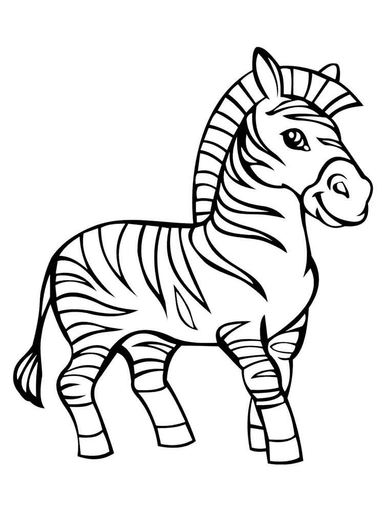 zebra color page free printable zebra coloring pages for kids page color zebra